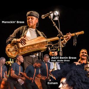 AGO! Benin Brass, ESINAM & Marockin' Brass at Brussels Jazz Weekend