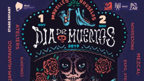 Dia de Muertos returns to les Marolles