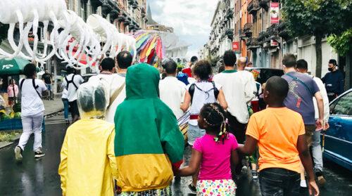 Quetzal dances out off Brussels
