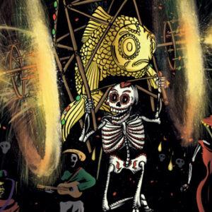 Día de Muertos herleeft in de Marollen